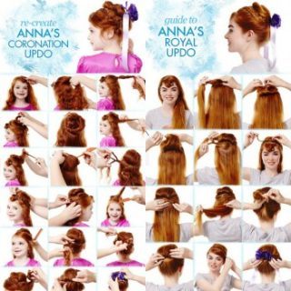 Disney Frozen Hair Braid Tutorials