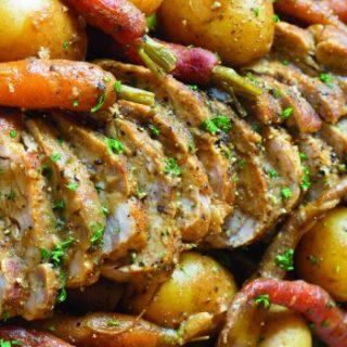 Slow Cooker Pork Loin with Vegetables