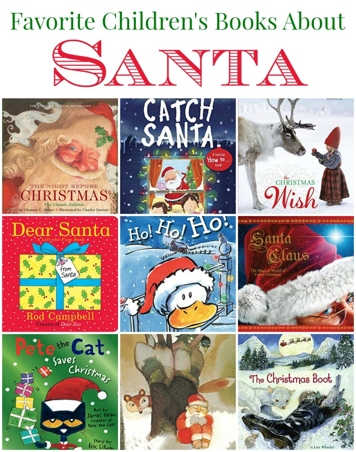 Absolutely Delightful Children's Santa Books that will become your favorites of the season. Perfect reading list at Christmas!