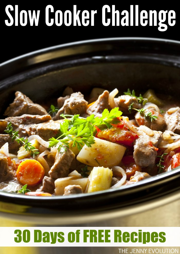 Slow Cooker Challenge! Get 30 Days of FREE Slow Cooker Recipes