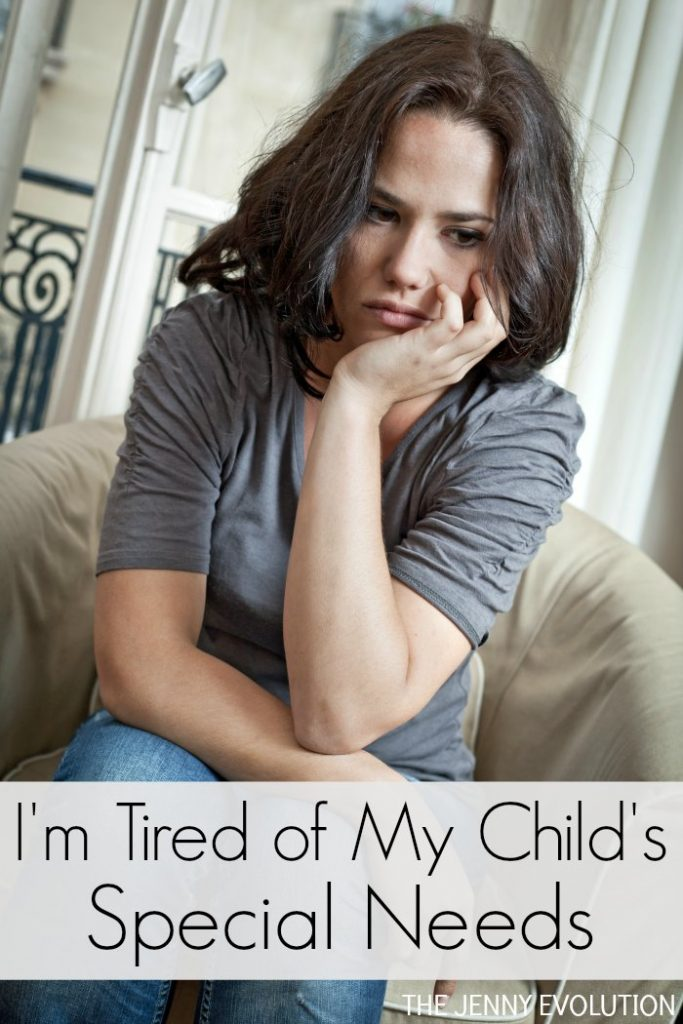 I'm Tired of My Child's Special Needs - A mom's confession... Be sure to read before you judge!