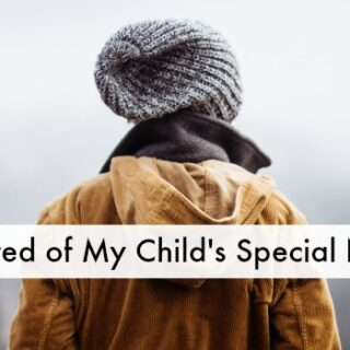 I'm Tired of My Child's Special Needs