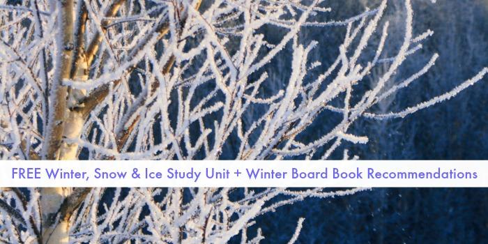 winter board books