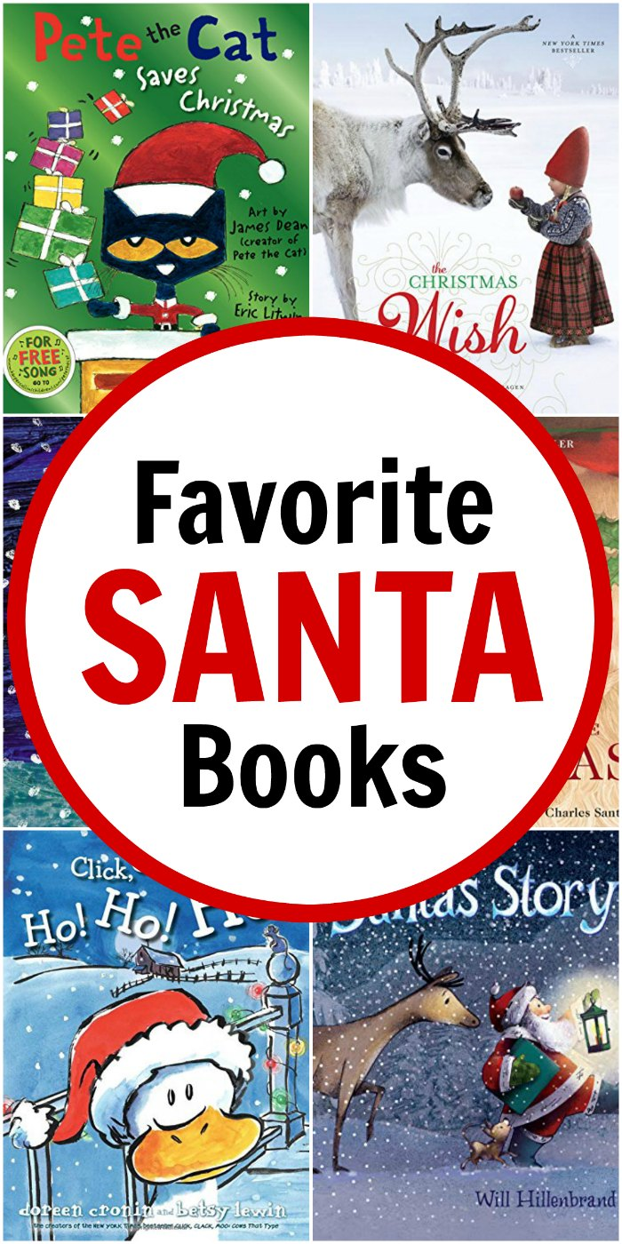 Favorite Children's Santa Books (Winter Holiday Unit Study) \ Mommy Evolution