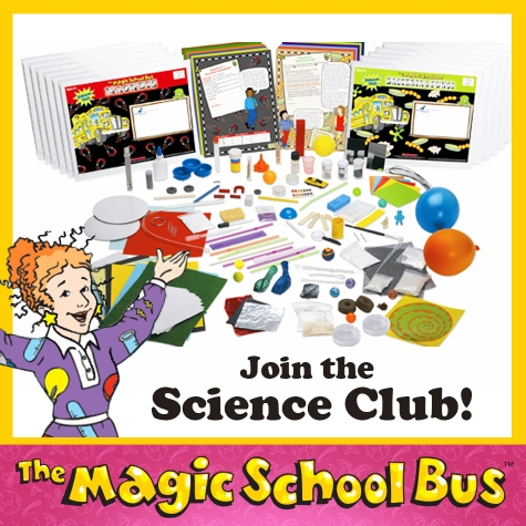 The Magic School Bus Science Club Kits