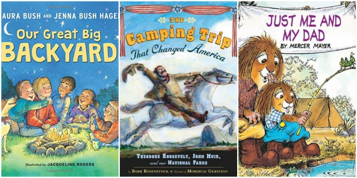 childrens camping books