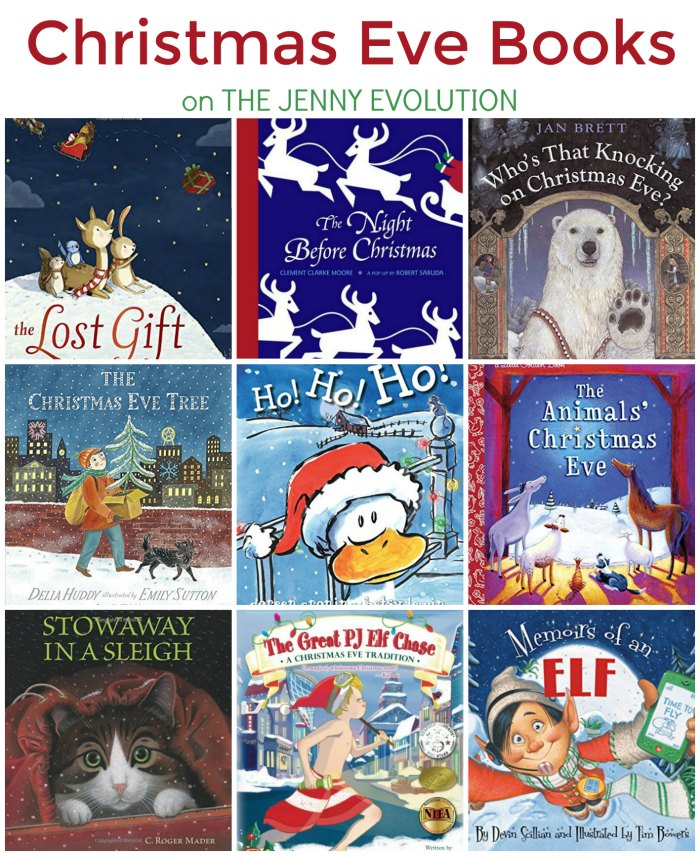 Children just love these Christmas Eve books for Kids! on The Jenny Evolution