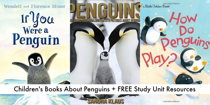childrens books about penguins