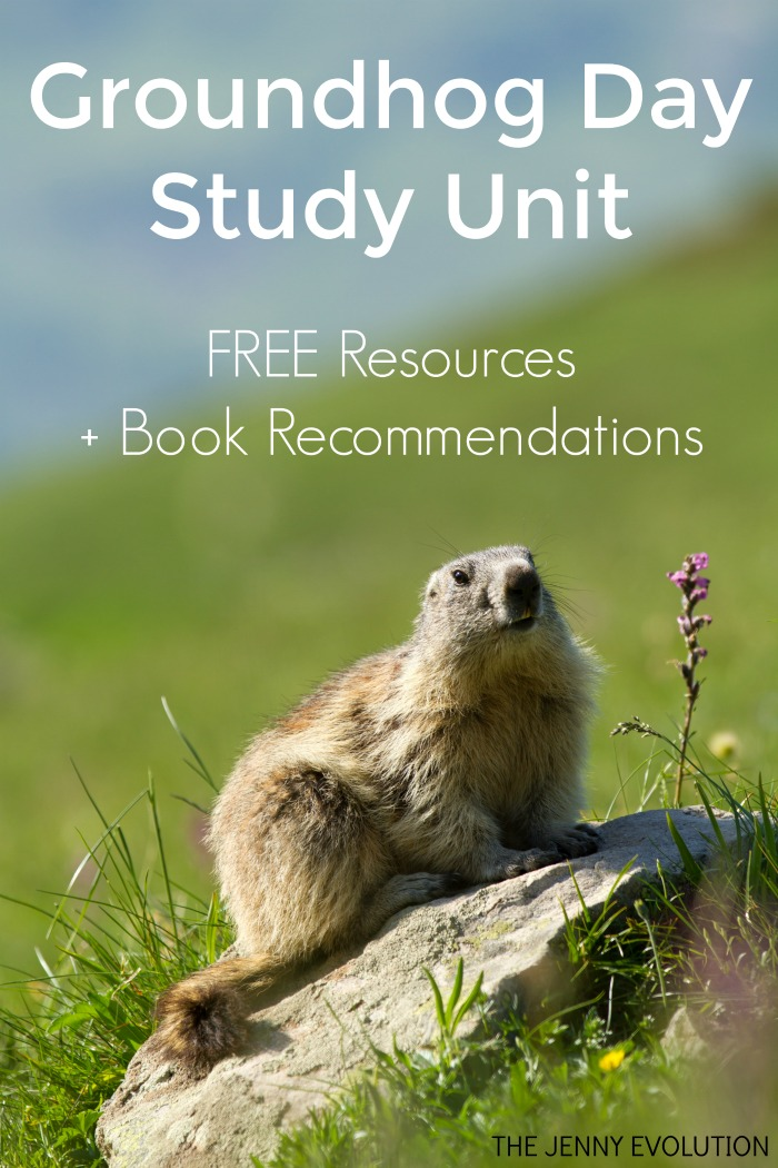 FREE Groundhog Day Study Unit Resources and Ideas, PLUS Groundhog Day children's picture book recommendations