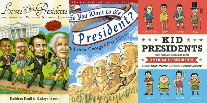 childrens books about presidents