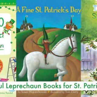 Leprechaun Books for St. Patrick's Day (+ St. Patrick's Day Unit Study)