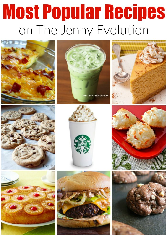 Most Popular Recipes of 2016 on Mommy Evolution!