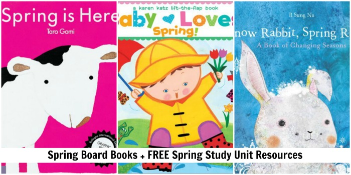 childrens books about spring