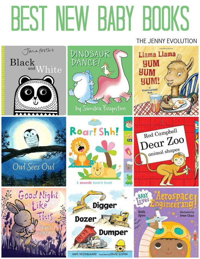 Have a toddler or baby in the house? You're going to adore these Best New Baby Board Books of the Year!!! from The Jenny Evolution