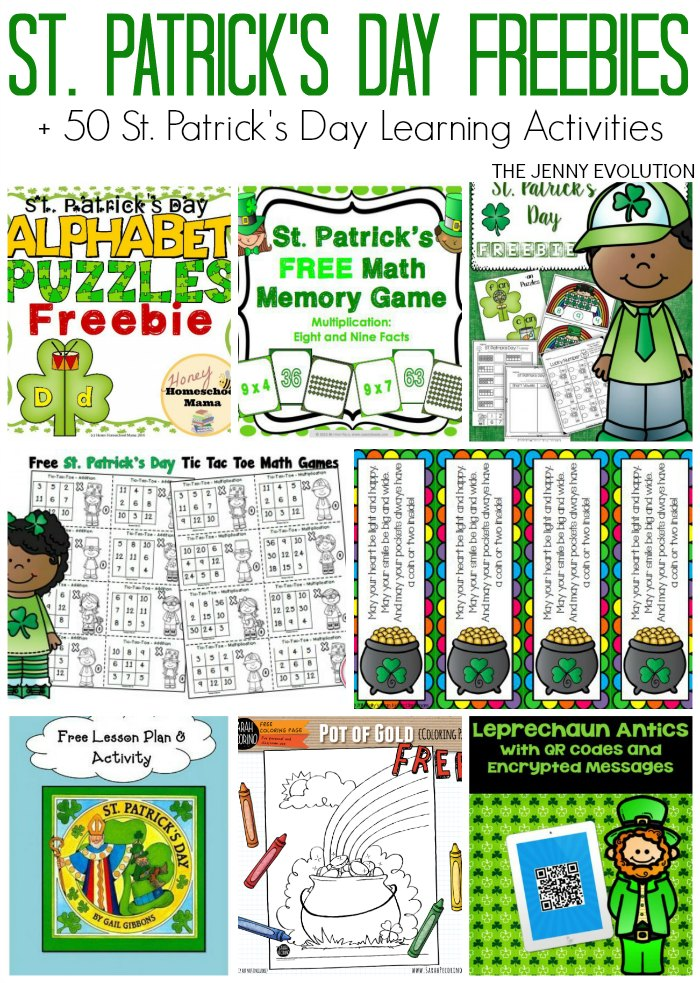 10 Free St Patricks Day Printables for Classroom and Homeschool | The ...