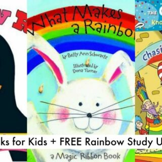 10 Picture Books About Rainbows (Study Unit)