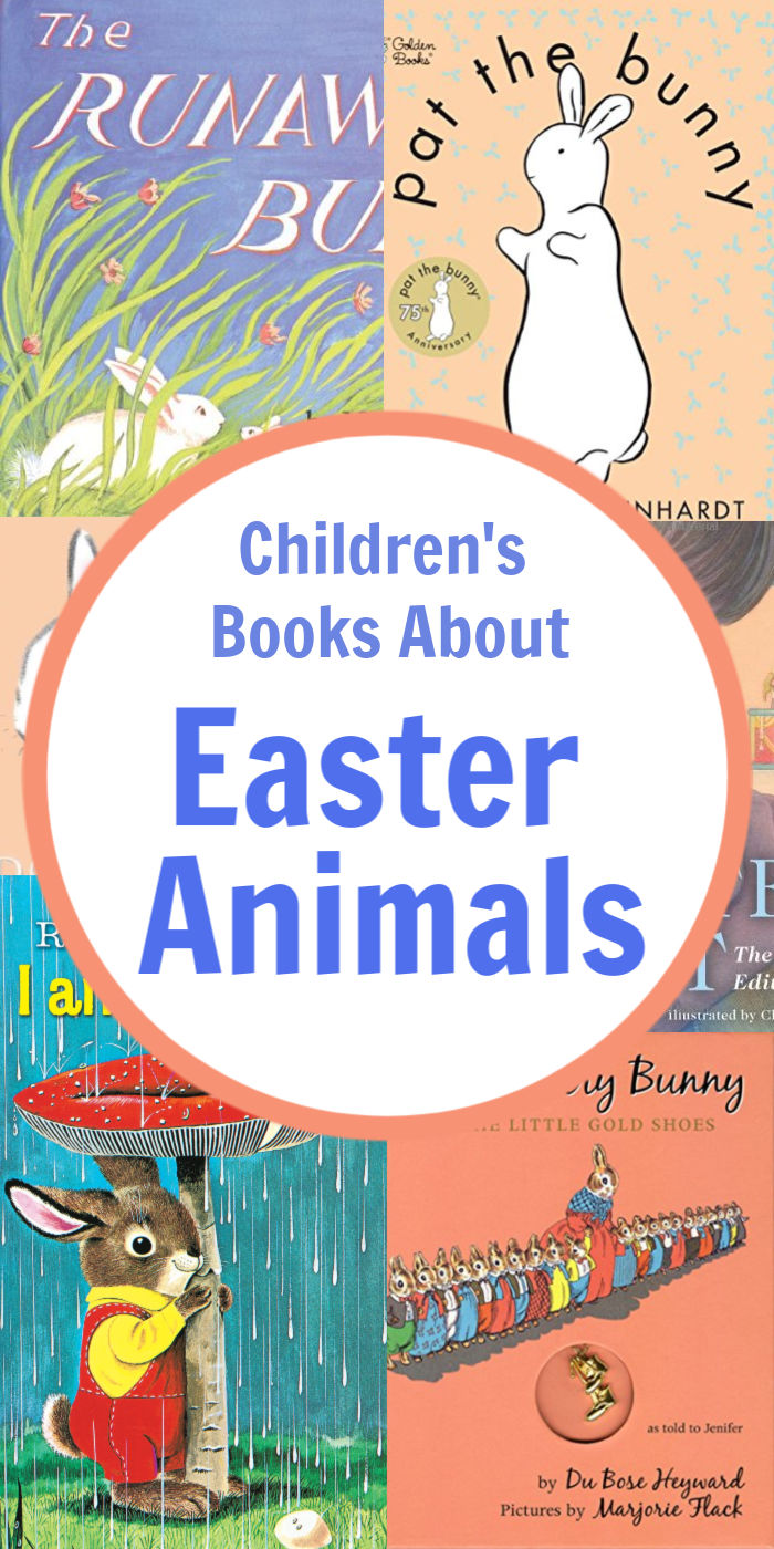 15 Books About Easter Animals For Children | Mommy Evolution