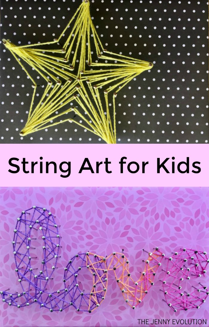String Art for Kids | Mommy Evolution
