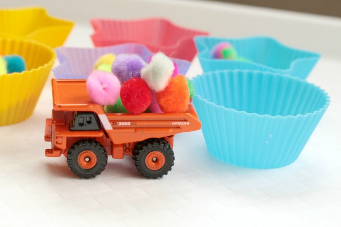 Dump Truck Counting Activity For Kids