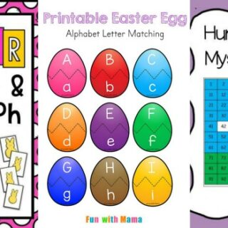 Free Printable Easter Worksheets and Activities