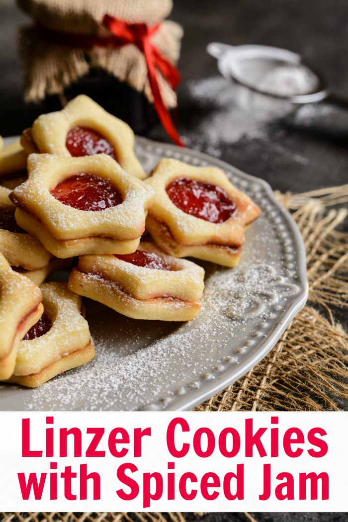 Sneak a Peek Linzer Cookies with Spiced Jam Recipe | Mommy Evolution