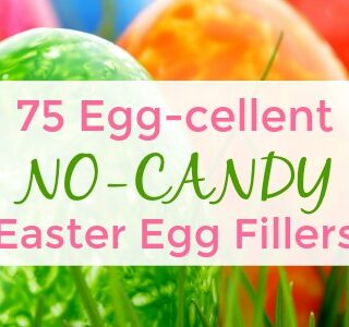75 Egg-cellent Non Candy Easter Egg Fillers