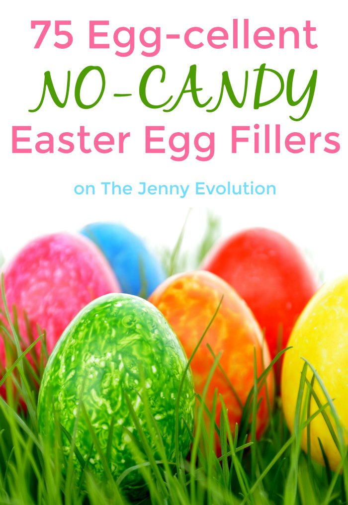 75 Ways to Fill Easter Eggs Without Candy