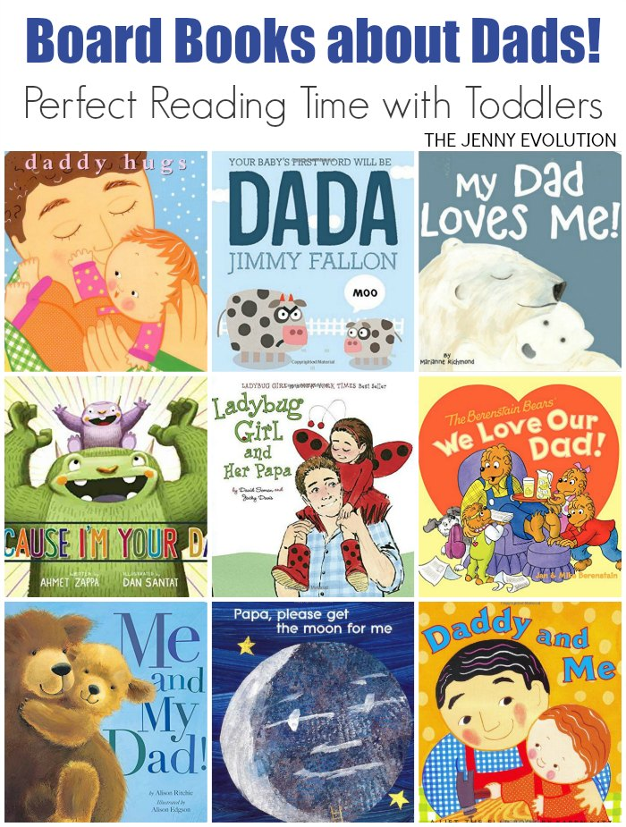 Board Books about Dads to Read with Your Child (Father's Day Study Unit Resources) | Mommy Evolution