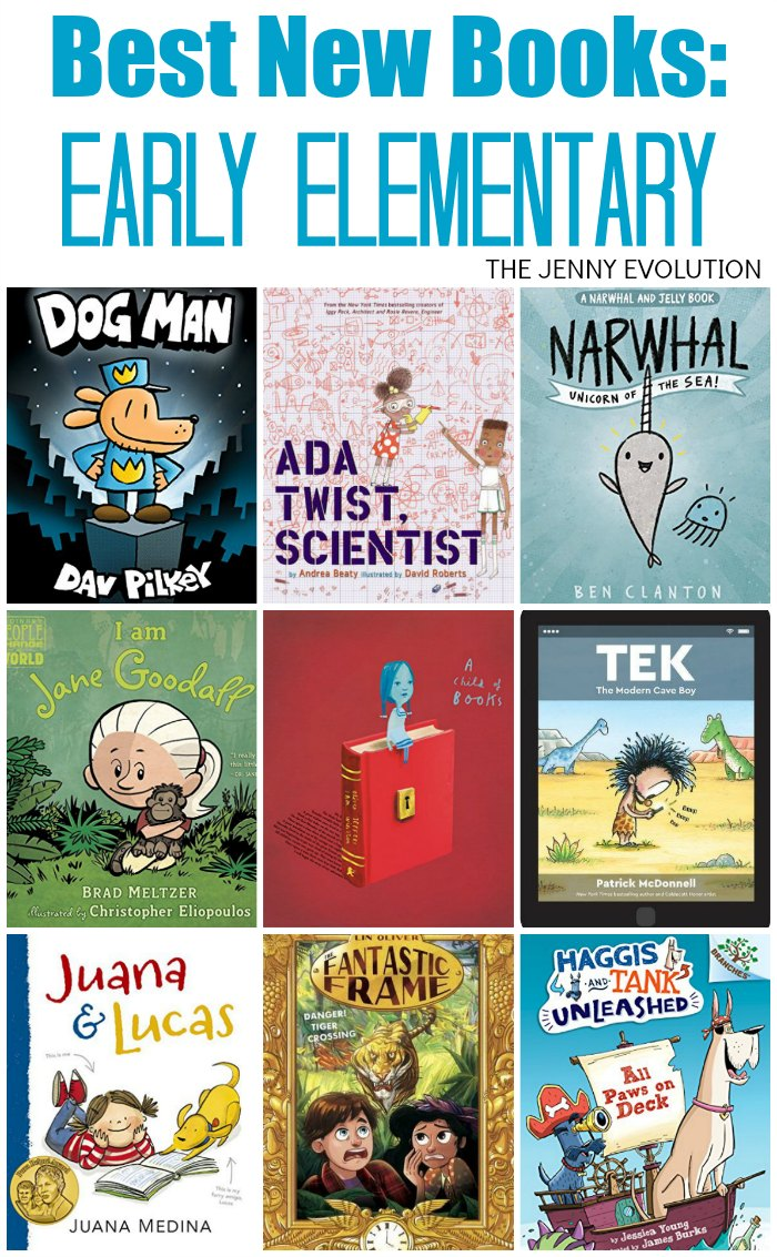 Best New Early Elementary Reading Books of the Year | The Jenny Evolution