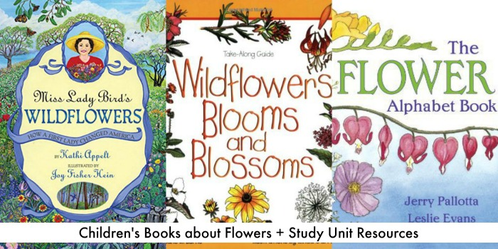 childrens books about flowers