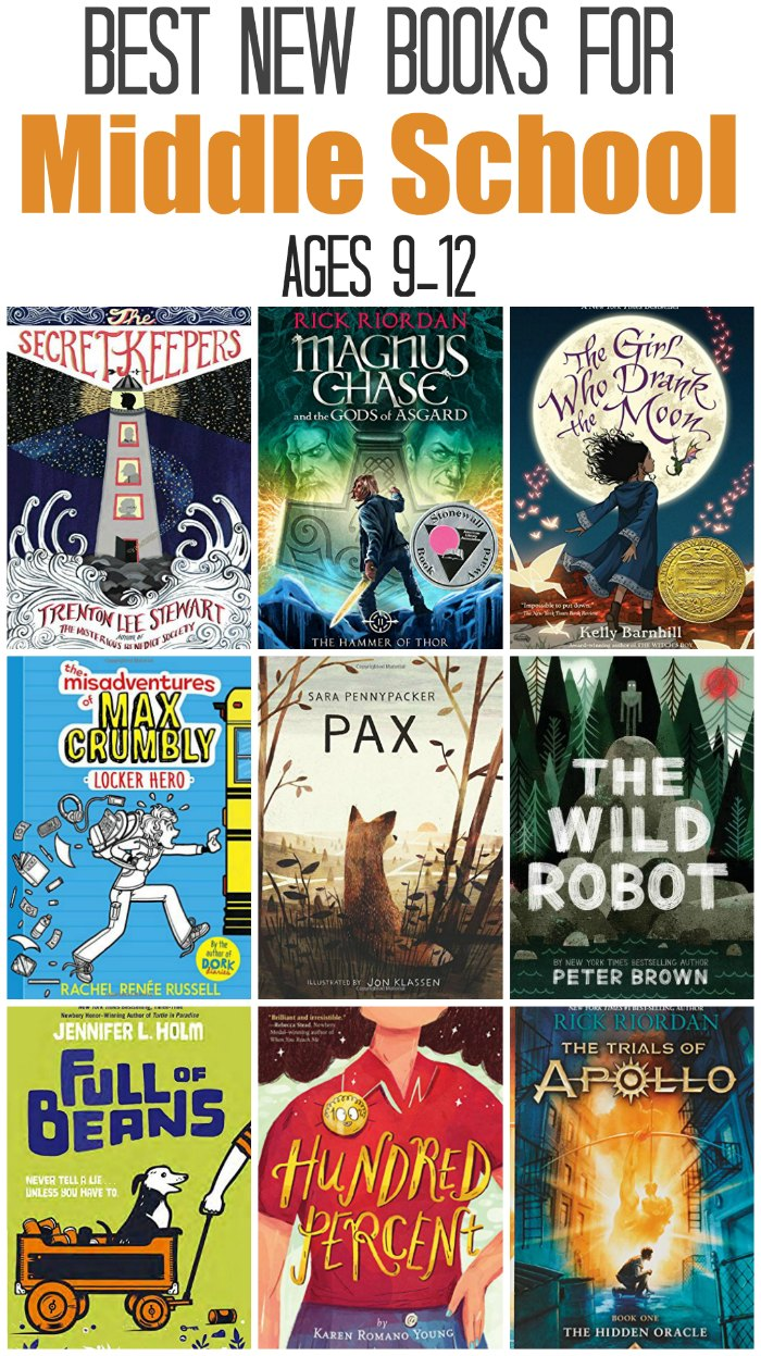 Best New Middle School Reading Books, for ages 9-12 | Mommy Evolution