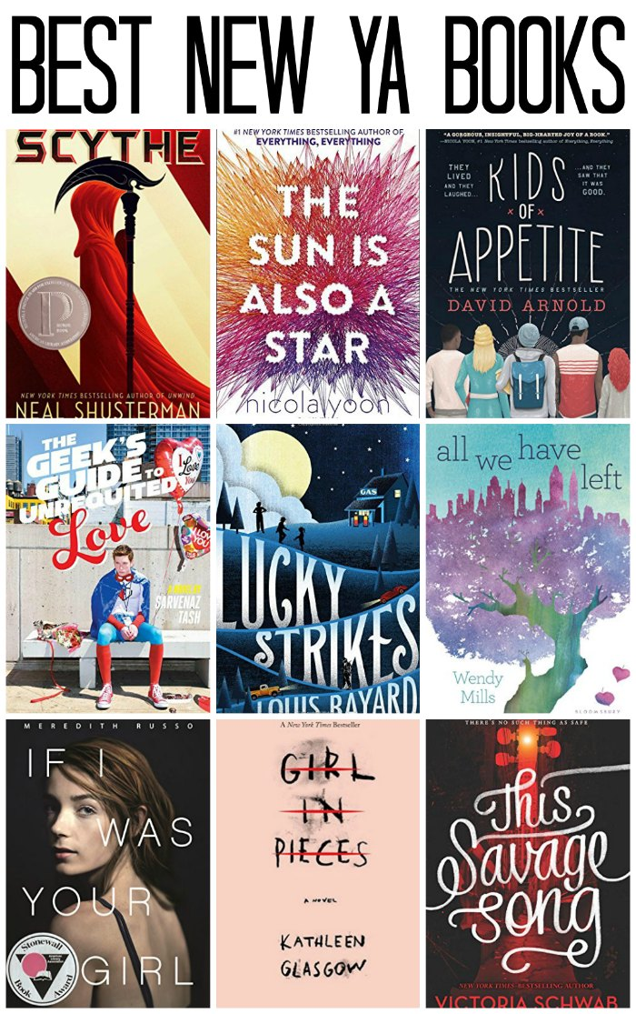 Best New Young Adult Books for High School Readers | Mommy Evolution
