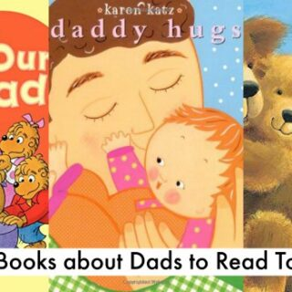 Board Books about Dads to Read with Your Child (Father's Day Unit Study)