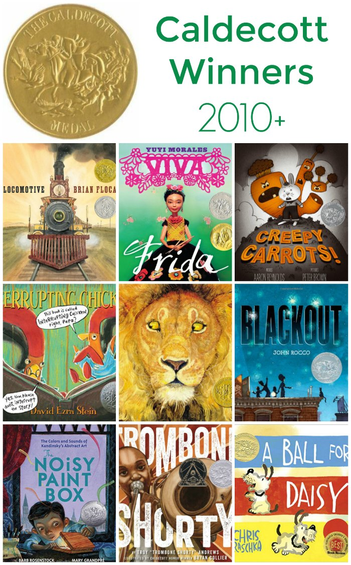 Caldecott Award Winners and Honor Recipients 2010 to Now (children's book awards) | The Jenny Evolution