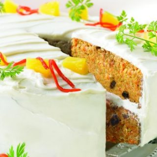 Nut Free Carrot Cake