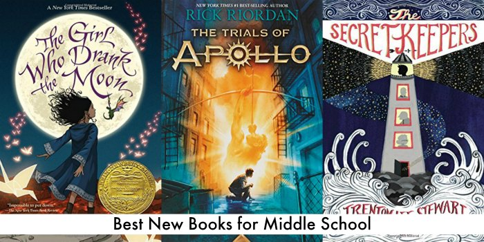 best new books for middle school