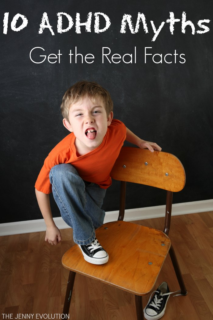ADHD Myths: Get the Real Facts | The Jenny Evolution