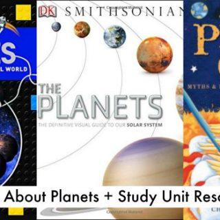 Children's Planet Books (+ Space Study Unit)