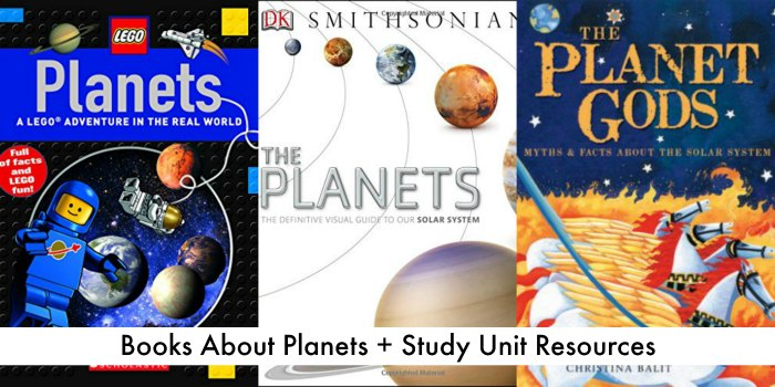 planet books + study unit resources