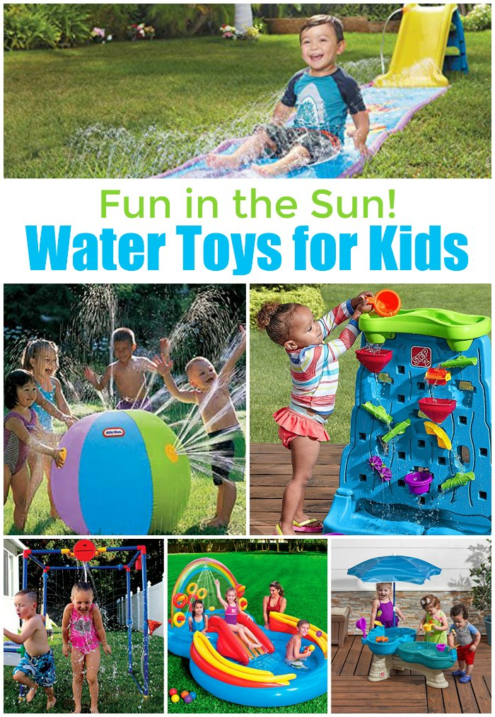 Water toys for kids! Fun in the sun for toddlers, preschoolers and little ones | Mommy Evolution