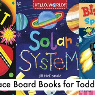 Space Books for Toddlers (Board Book Edition + Space Study Unit)