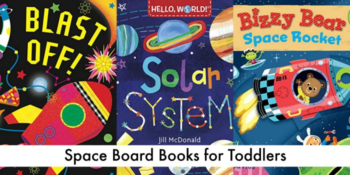space board books for toddlers