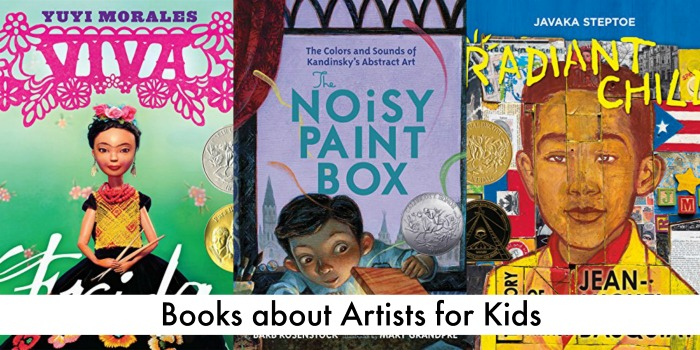 books about artists for kids