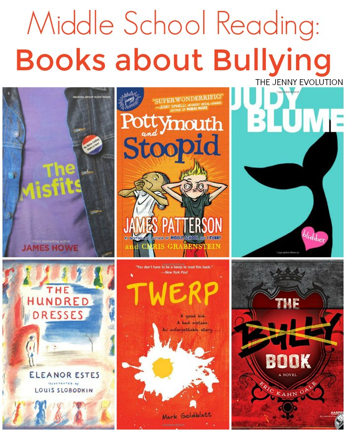 Books About Bullying for Middle School | The Jenny Evolution