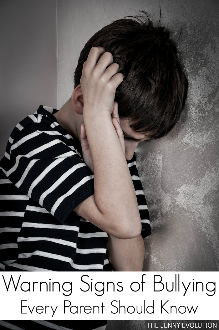 4 Warning Signs of Bullying Every Parent Should Know... Could your child be a victim of bullying? | The Jenny Evolution