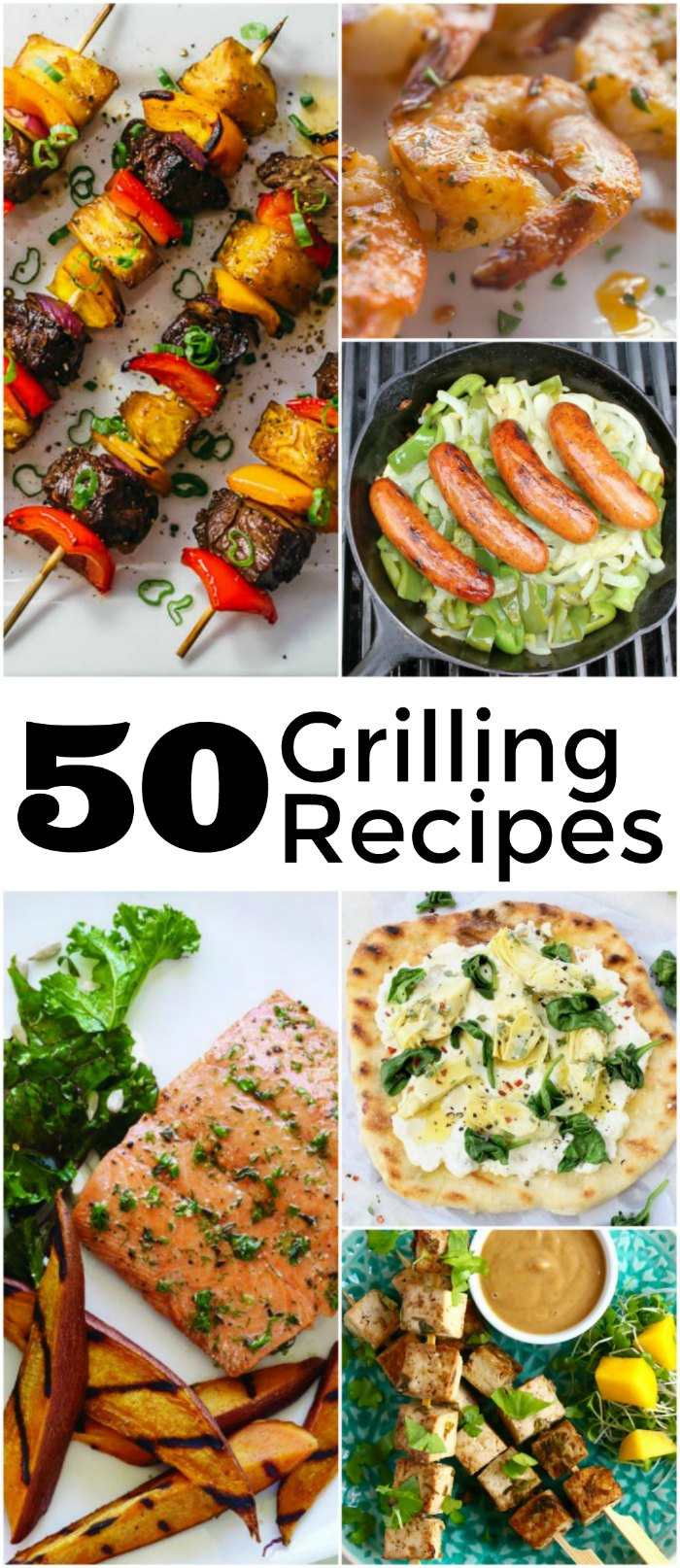 50 Backyard BBQ Recipes - Perfect Grilling Recipes for your next dinner, picnic or backyard gathering | Mommy Evolution