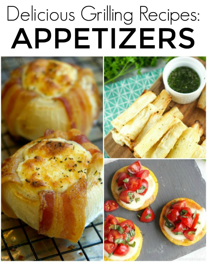Delicious Grilled Appetizers: 50 Backyard BBQ Recipes - Perfect Grilling Recipes for your next dinner, picnic or backyard gathering | The Jenny Evolution