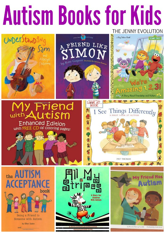 Autism Books for Kids - Wonderful Children's Books about having a friend with Autism! | Mommy Evolution