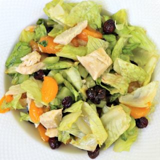 Easy Chicken Cranberry Mandarin Salad
