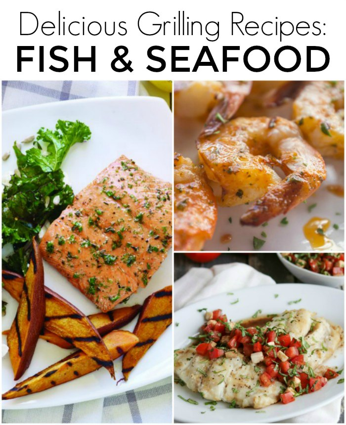 Delicious Fish and Seafood Grilling Recipes: 50 Backyard BBQ Recipes - Perfect Grilling Recipes for your next dinner, picnic or backyard gathering | Mommy Evolution